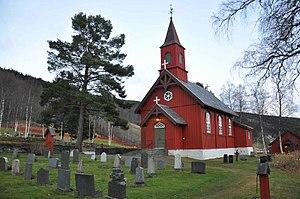Sørli Church - Image: Sørli kirke fra RA