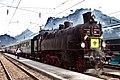 Südbahn 629.43 Ebensee Kaiserzug.JPG