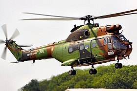 Image illustrative de l'article Sud-Aviation SA330 Puma
