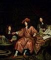 SA 35787-Barend van Lin (ca. 1641-1705) met zijn jongere broer en zijn toekomstige zwager.jpg