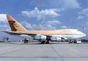 Air Tanzania - Alliance Air Boeing 747SP