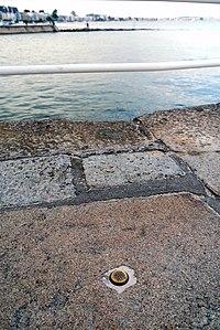 SHOM Benchmark, Le Pouliguen, Loire-Atlantique, France - General View.JPG
