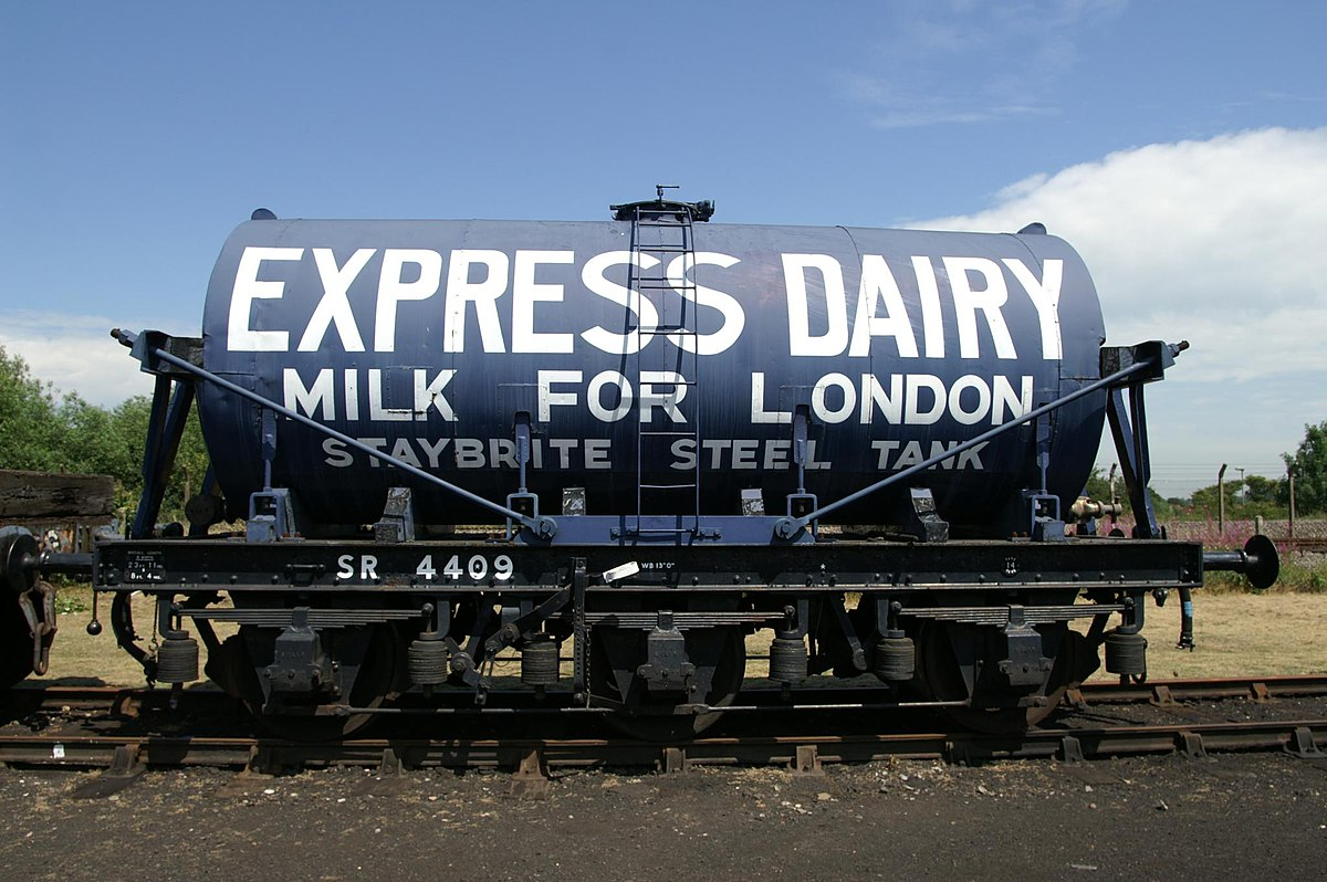 British Railway Milk Tank Wagon Wikipedia