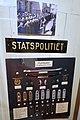 STATSPOLITIET. Distinksjoner uniform 1942. Nasjonal Samlings solkors. Tjenestegrader. From exhibition in Justismuseet, Trondheim, Norway. (2019-03-07).jpg
