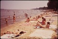 SWIMMING AND SUNNING ON THE BEACH AT ROCKY POINT PARK - NARA - 546942.tif