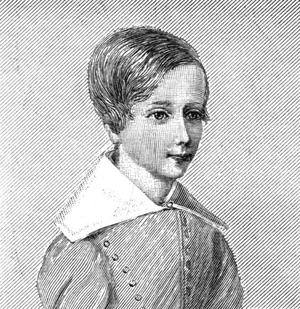 Sabine Baring-Gould - Baring-Gould at age 5