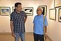 Sabyasachi Chakrabarty and Abhoy Nath Ganguly - Group Exhibition - PAD - Kolkata 2016-07-29 5204.JPG
