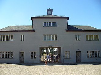 Sachsenhausen concentration camp - Main entrance, July 2006