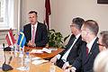 Saeimā viesojas Zviedrijas Karalistes parlamenta Aizsardzības komisijas delegācija (5715615034).jpg