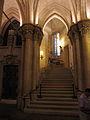 Sagrada-Familia - Krypta - Treppenaufgang.JPG