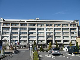 Saikyo high school in Kyoto,Japan.JPG