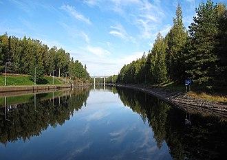 Saimaa Canal - The Saimaa Canal