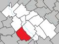 Saint-Elzéar (Chaudière-Appalaches) Quebec location diagram.png