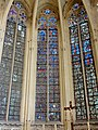 Saint-Germer-de-Fly (60), Sainte-chapelle, vitrail n° 1 - médaillons historiés.jpg