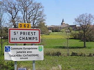 Saint-Priest-des-Champs Commune in Auvergne-Rhône-Alpes, France