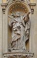 Saint Camillus de Lellis in facade of church Santa Maria Maddalena.jpg