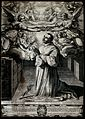 Saint Carlo Borromeo. Line engraving by F. Villamena after G Wellcome V0031784.jpg