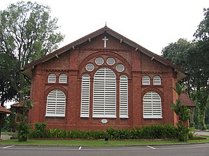 Saint George's Church, Singapore - Image: Saint George's Church 2, Singapore, Sep 06