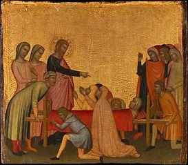 Saint John the Evangelist Raises Satheus to Life