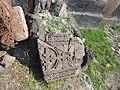 Saint Sargis Monastery of Ushi (khachkar) (50).jpg