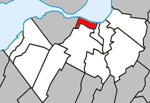 Sainte-Catherine, Quebec - Image: Sainte Catherine Quebec location diagram