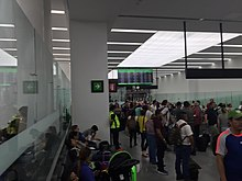 Tijuana Airport Last Waiting Room  |Chihuahua Mexico Airport Sala