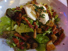 image illustrative de l'article Salade lyonnaise