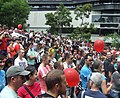 Same Sex Marriage Rally, State Library of Victoria, Swanston and La Trobe Sts, Melbourne City, Victoria, Australia 091128-136 (4140343164).jpg