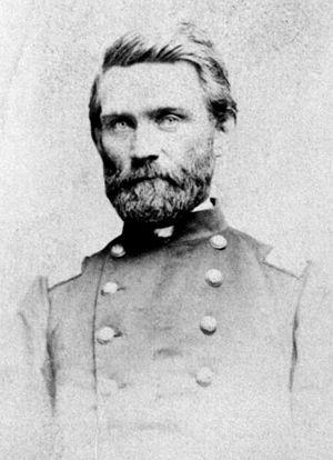 Rice County, Kansas - Samuel Allen Rice in 1864
