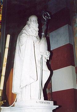 San Fidenzio, statue of saint (Megliadino San Fidenzio).jpg