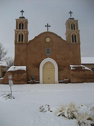 San Miguel de Socorro - San Miguel de Socorro Church, Nov 2013