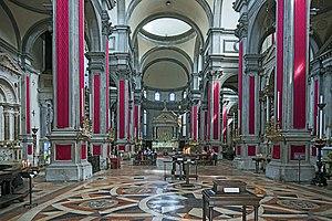 San Salvador, Venice - Image: San Salvador Interno