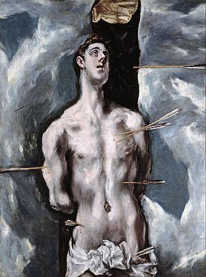 San Sebastián. Óleo sobre lienzo, 115 × 85 cm....