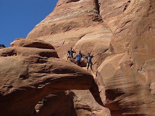 Sand Dune Arch, Arches National Park, Moab, Utah (9101935106)