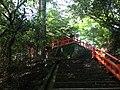 Sando between Upper Shrine and Lower Shrine of Usa Shrine 1.JPG