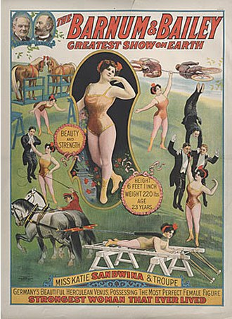 Katie Sandwina - Image: Sandwina poster 1914