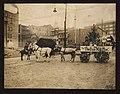 Santa Claus in Bon Marché carriage in a back lot, 1914 (MOHAI 4415).jpg