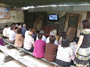 Sarajevo Tunnel - Educational video screening at Sarajevo Tunnel Museum.