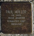 Sassnitz, Weddingstr. 12, Stolperstein Paul Müller.jpg