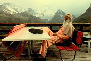 Satchidananda Saraswati - Swami Satchidananda in Switzerland in 1987