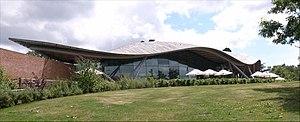 Savill Building - Image: Savill Building parkside