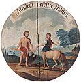 Schützenscheibe 1752 Mallem nescisse futura.jpg