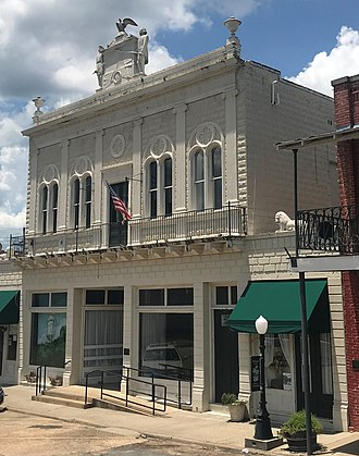 National Register of Historic Places listings in Caldwell Parish, Louisiana - Image: Schepis Building 1