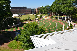 Augusta University - The Summerville campus at Augusta University includes an Amphitheatre and Science Hall, pictured here.