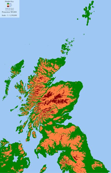 Scozia Cartina Fisica.Regno Di Strathclyde Wikiwand
