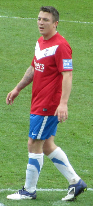 Scott Brown (footballer, born May 1985) - Brown playing for York City in 2012