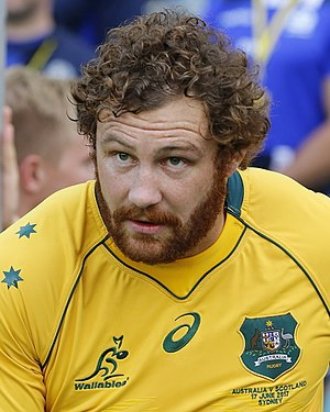Scott Higginbotham - Higginbotham at the Wallabies vs Scotland game, 17 June 2017
