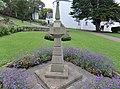 Scottish sundial at 'The Lodge' gardens, North Berwick, East Lothian.jpg