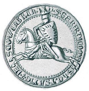 Gerhard I, Count of Holstein-Itzehoe Count of Holstein-Itzehoe