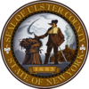 Official seal of Ulster County